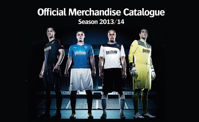 Official Merchandise Catalogue - Rangers Football Club 7fbbeb127