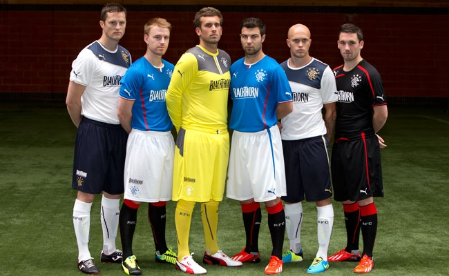 7af94f5f8679 Rangers Reveal 2013 PUMA Kits - Rangers Football Club