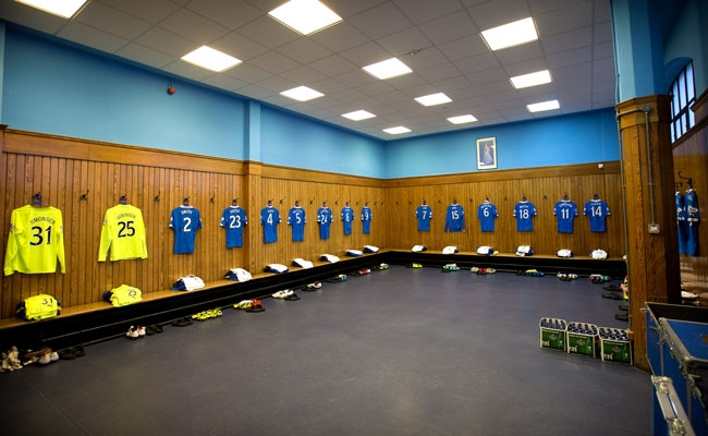 Staff Changing Room