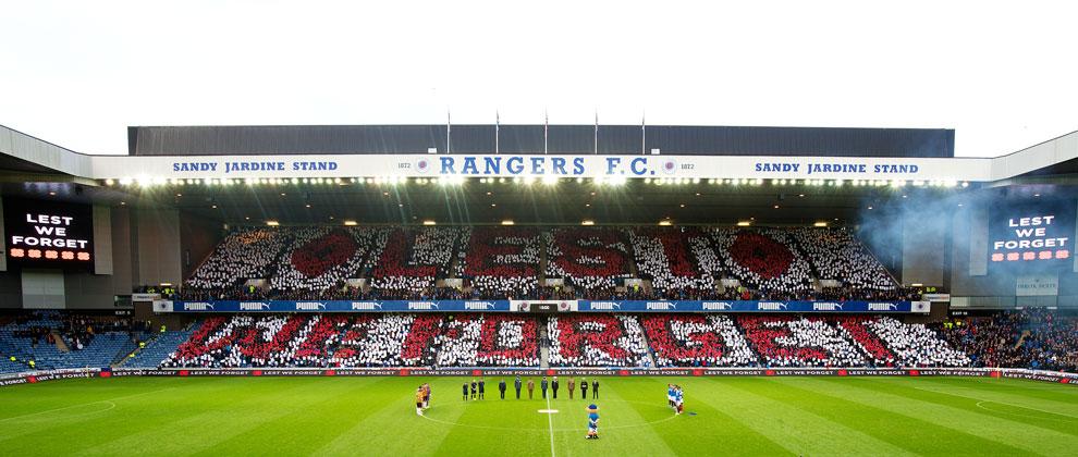 Card Display Volunteers Required Rangers Football Club
