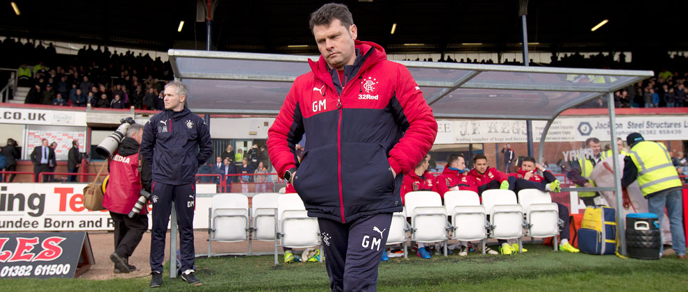 Murty Unhappy With Display