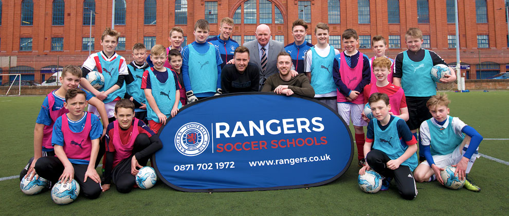 Soccer Schools NI Launch