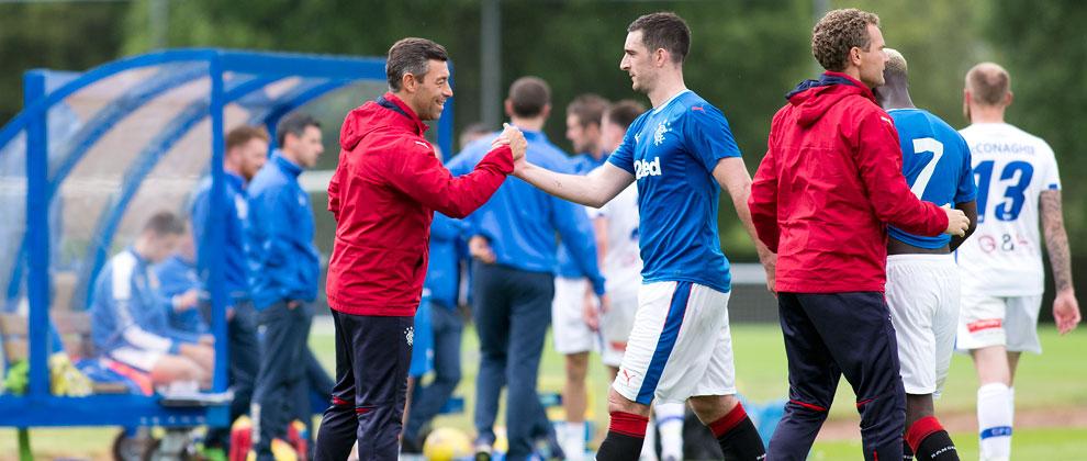 Watch Rangers Against Coleraine