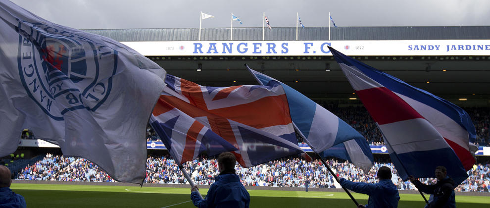 Be An Ibrox Flag Bearer! - Rangers Football Club, Official
