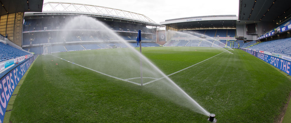 Play On The Pitch At Ibrox