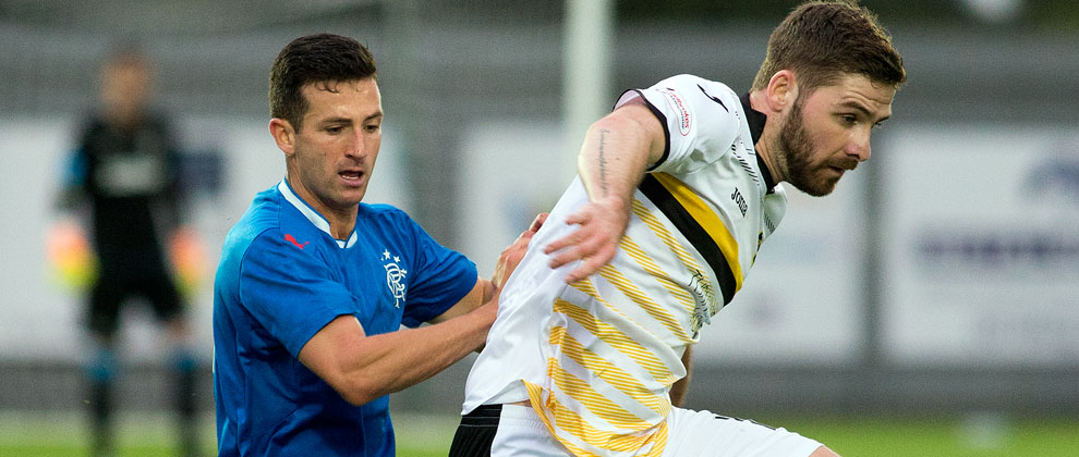 Dumbarton 2-1 Rangers Colts