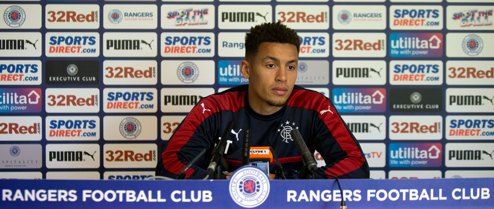 Video: James Tavernier Presser