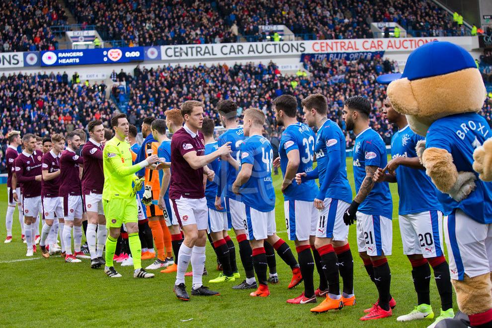 rangers vs heart of midlothian 240218 rangers football
