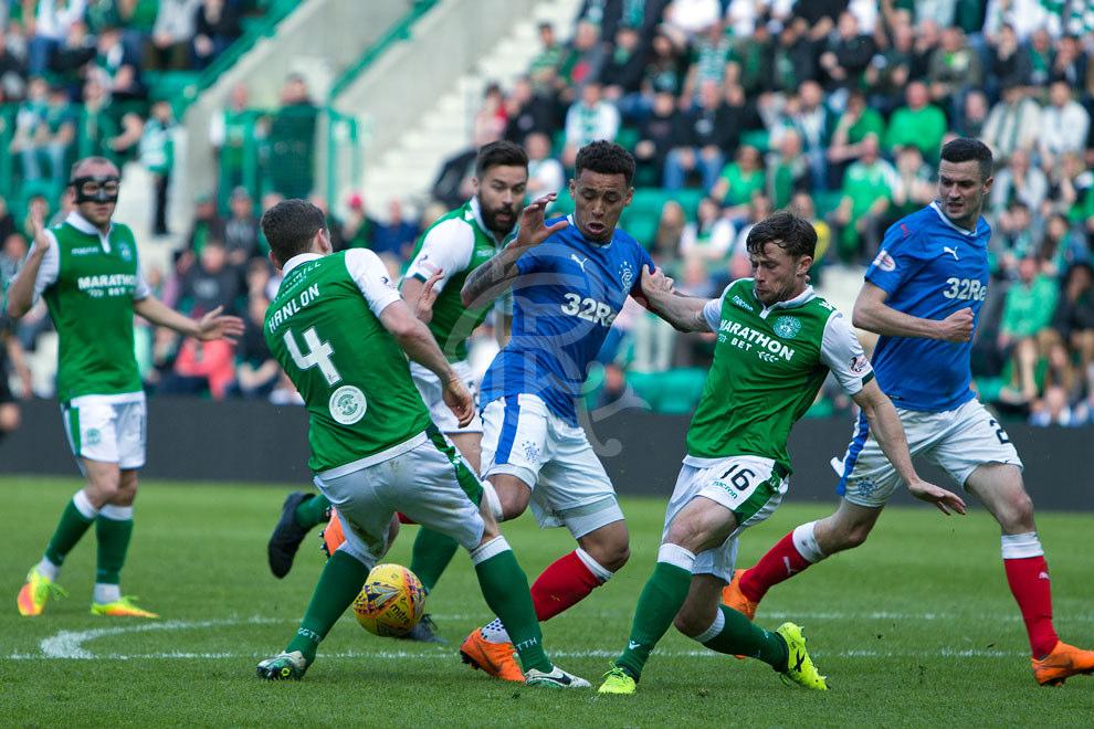 BBC Sport - Football - Hibernian 0-1 Rangers   Hibernian-rangers