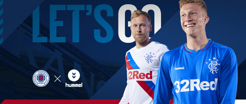 Rangers Announce New Hummel Kit - Rangers Football Club 5c4d879b1