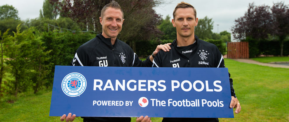 Rangers Pools Re-Launched - Rangers Football Club, Official