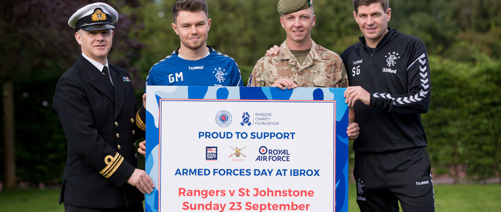 Armed Forces Day Sunday