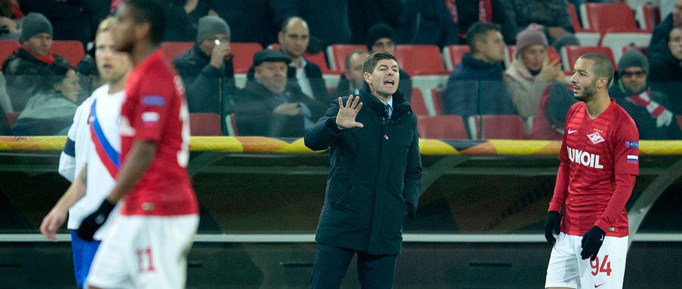 Spartak Moscow 4-3 Rangers - Rangers Football Club, Official