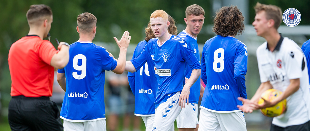 U18: Rangers 2-0 Greenock Morton
