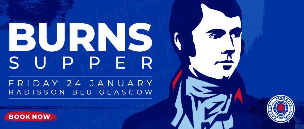 Rangers Burns Supper 2020 - Rangers Football Club, Official